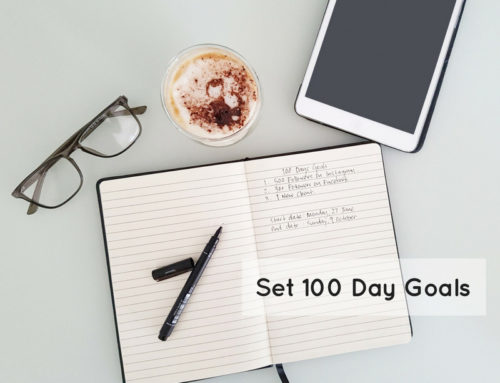 Set 100 Day Goals