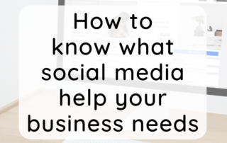 How to know what social media help your business needs
