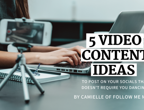 5 Easy Video Content Ideas